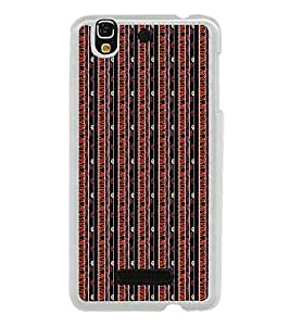 Fiobs Designer Back Case Cover for YU Yureka :: YU Yureka AO5510 (Multicolor Ethnic Design)