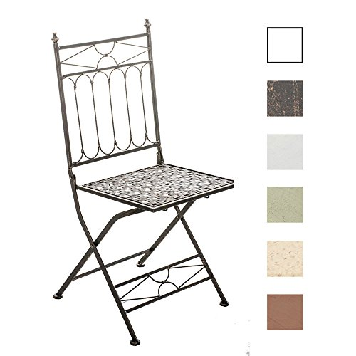 Clp Foldable Handmade Chair Asina Nostalgic Design Made From Iron Choose From Up To 6 Colours Antique Green