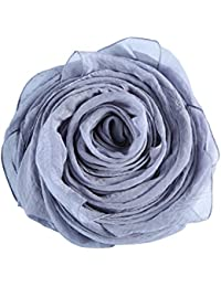 Chiffon Feel Scarf Light Weight Tissu lisse pour femme Foulard Neck Lady  All Seasons disponible e61f2051b41