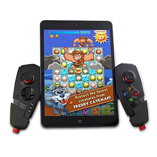 etooth Game Controller Joystick mit Stretch Halterung für iOS Android TV Box ()