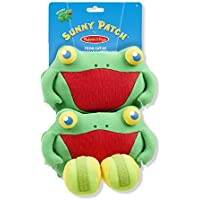 Melissa & Doug Sunny Patch Skippy Frog Toss and Grip Action Game - 2 Mitts, 2 Soft Balls