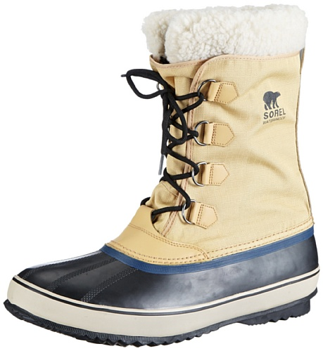 Sorel 1964 Pac Nylon NM1440, Herren Schneestiefel, Braun (Curry, Black 373), EU 40 (US 7)
