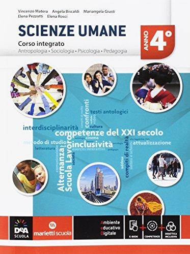 Scienze umane. Corso integrato LSU. Per la 4ª classe delle Scuole superiori. Con e-book. Con espansione online: 2