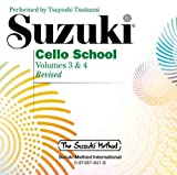 Suzuki Cello School: Volume 3 & 4 (Suzuki Method)