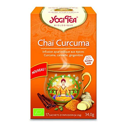 Yogi Tea - Chai Infusion Cúrcuma 17 Bolsas - Lote