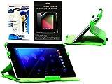 Navitech ASUS Serie Fall - Grünes bundle pack Google Nexus 7