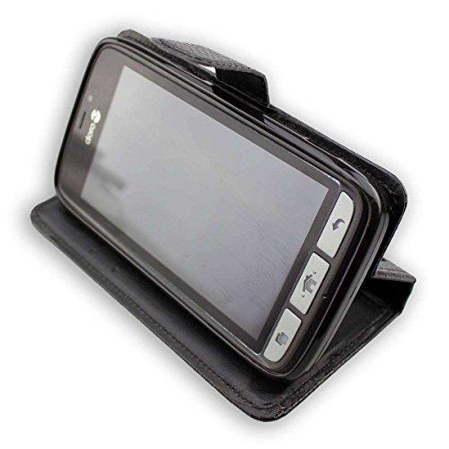 caseroxx Tasche Case Hülle Bookstyle-Case für Doro 8030/8031 in schwarz