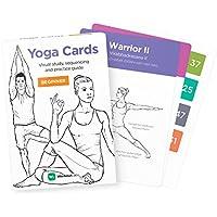 YOGA CARDS – Estudio Visual Premium, Clase de Secuencias y Guía Practica con Posiciones Esenciales, Ejercicios de Respiración y Meditación · Tarjetas en Plástico para mujeres por WorkoutLabs