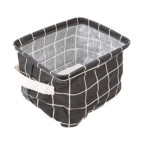 Lalang Geometrisches Muster Kosmetik Tasche Make-up Organisator, Haushaltsartikel Organisator Lagerung Schutt Aufbewahrungsbox (003#) (Korb-geldbeutel-handtasche)