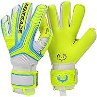 German Hyper Grip Palms Sizes 5-11, 4 Cuts, Lvl 2 Versatile Glove for All Ages//Levels Renegade GK Talon Goalie Gloves Excellent Protection Pro-Tek Fingersaves 30 Day Guar.