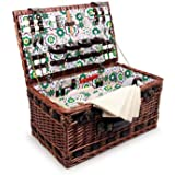 Small Foot Company 6533 - Deluxe Picnic Basket