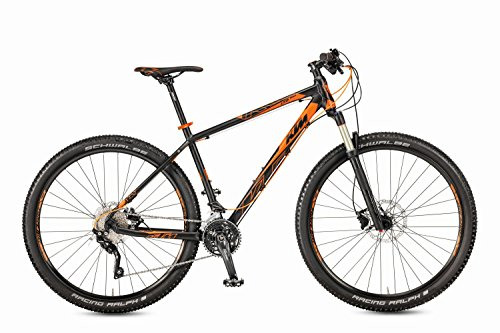 KTM Ultra 1964 29″ MTB 2017 schwarz matt orange RH 57 cm, 20 Gang, 12,80 kg