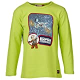 Lego Wear Jungen T-Shirt Star Wars TRISTAN 753-16410, Gr. 134, Grün (LIME 848)