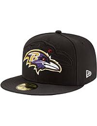 New Era NFL Sideline 59Fifty Balrav OTC - Cappello Linea Baltimore Ravens da  Uomo d545f7634a15