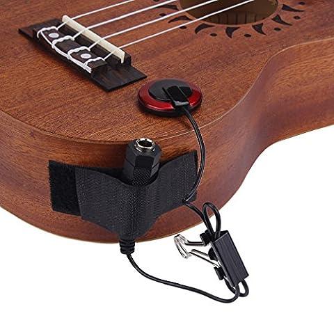 Tonsee Klassische Piezo Kontakt MIC Pickup für Gitarre Violine Banjo Mandoline Ukulele