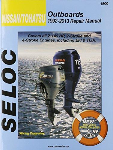 Nissan/Tohatsu Outboards 1992-2009 Repair Manual (Außenbordmotoren Tohatsu)