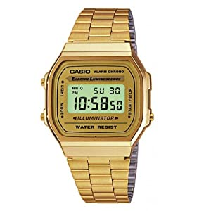 Casio A168WG-9WDF Casio - Reloj unisex de Casio