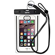 La Touch ID custodia impermeabile smartphone EOTW è la scelta migliore Quale che sia la tua attività: nuoto, tuffi, drifting, scalata, pesca.Il sistema di chiusura Snap Lock Mechanism è facile da usare e sigilla la custodia al 100% EOTW Unive...