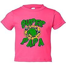 Camiseta niño Súper Papá Hulk puño