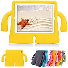 iPad Air/Air2Funda para niños, y & M (TM) de espuma EVA Dropproof a prueba de golpes iPad Funda con función atril niños seguridad protectora Tablets PC MID carcasa para iPad 5/6/Pro 9.7
