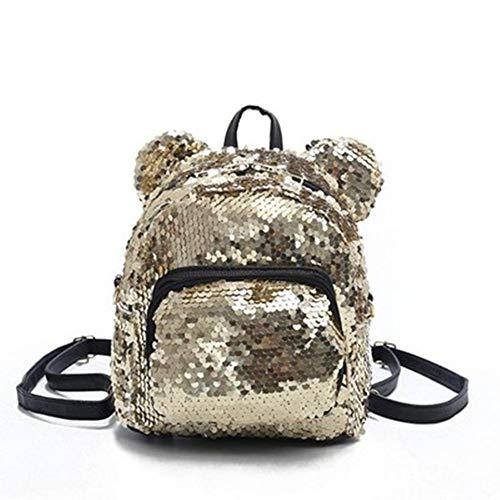 LKJH Rucksack Ackpacks Teenager Schultaschen Mädchen Rucksack Kordelzug Kinder Tasche Glitter Girls Travel Umhängetaschen, E (Kordelzug Schwitzt)