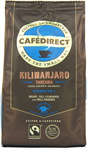 cafdirect-fairtrade-kilimanjaro-tanzania-roast-ground-arabica-coffee-227g-pack-of-2