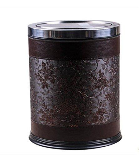 household-pattumiera-con-coperchio-pattumiera-materiale-pelle-specification-310-245-centimetri-brown