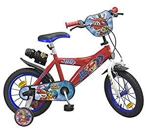 TOIMSA-Super Wings para Bicicleta Infantil, 1443u