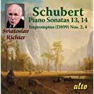 Schubert Piano Sonatas 13 & 14, Impromptus