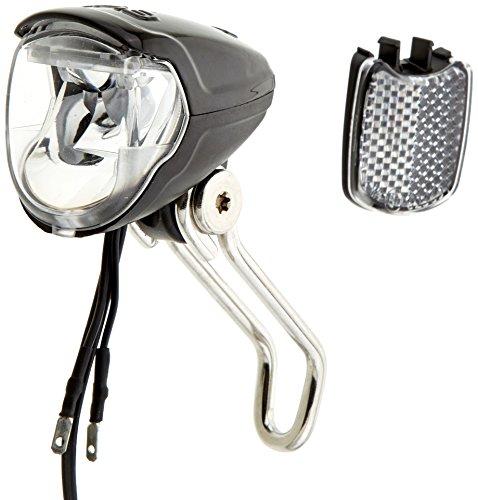 Busch & Müller Frontlicht Lumotec IQ2 Eyc N plus für Nabendynamo mit Schalter Led-scheinwerfer, schwarz, 8 x 5 x 5 cm
