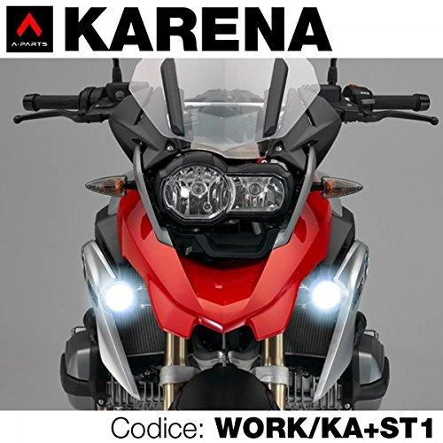 a-parts Kit Spot LED Karena spezifische für  R1200GS (Scheinwerfer Led Motorrad Kit)