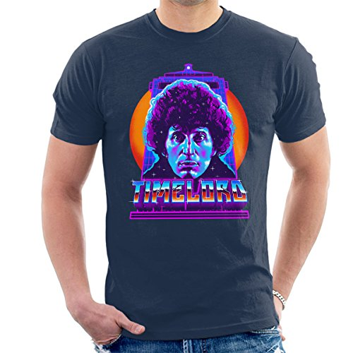 Timelord Fourth Doctor Who Men's T-Shirt