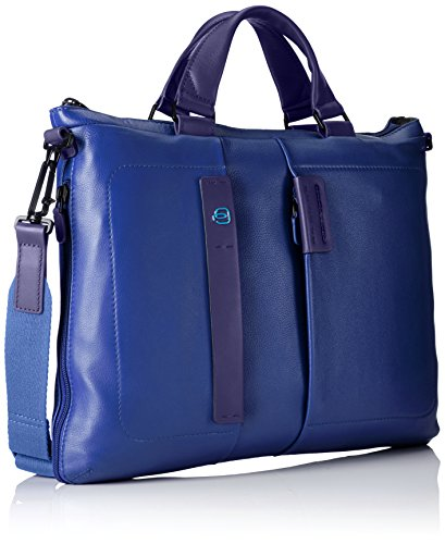 Piquadro Umhängetasche, braun (braun) - CA1618P15/M blau