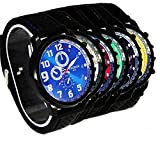 SSITG Herren Sports Militär Pilot Uhr Silikon Uhr Armbanduhr Herrenuhr