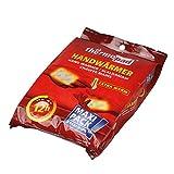 Thermopad Handwärmer   kuschlig weiches Wärmekissen   12 Stunden wohltuende Wärme von 55°C    angenehme Taschenwärmer   5er Pack -