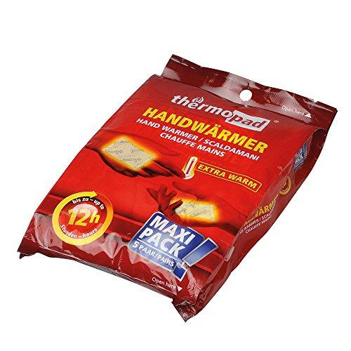 Thermopad 78310-Busta scaldamani confezione da 5cuscino termico-8ore Intensive calore