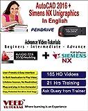 AutoCAD 2016 + Siemens NX Unigraphics Vi...