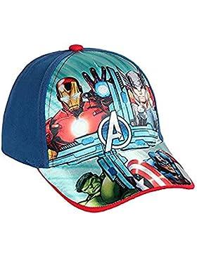 Avengers Marvel cappello Premium con visiera Bambino Baseball tg 52 i 54  (54 blu) cdf29bca46ca