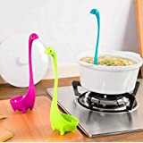 Sellify Blue : High Quality Lovely Useful Nessie Soup Ladle Loch Ness Monster Design Upright Spoon Home Kitchen Cooking Accessories Beautuful
