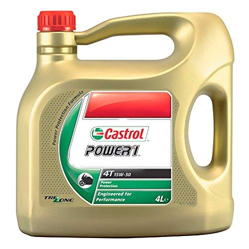 Olio Castrol 4t 4l 15w50 HC-Syn P1 7140089/7140027 per BMW C1 125 Carbon 4