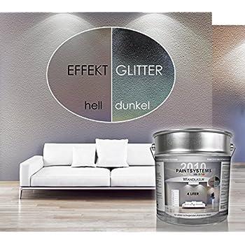 effekt wandfarbe wandlasur 1 liter dulux perlmutt silber struktur baumarkt. Black Bedroom Furniture Sets. Home Design Ideas