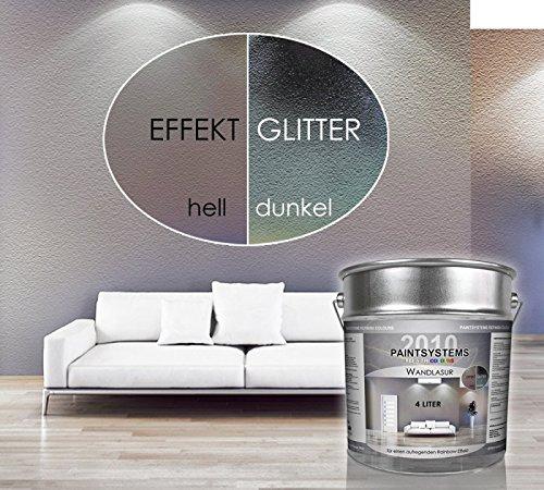 Preisvergleich Produktbild 4,0 Liter Effekt-Wandlasur mit Rainbow Effekt