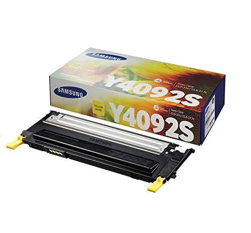 Samsung CLT-Y4092S/ELS Original Toner (Kompatibel mit: CLP-310/CLP-315/CLX-3170/CLX-3175 Series) gelb -