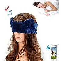 Preisvergleich für JIAO Bluetooth-Augenmaske-Kopfhörer-Schlaf-Bluetooth-Kopfhörer-Drahtlose Kopfhörer-Breathable Multifunktions-Bluetooth-Gläser...