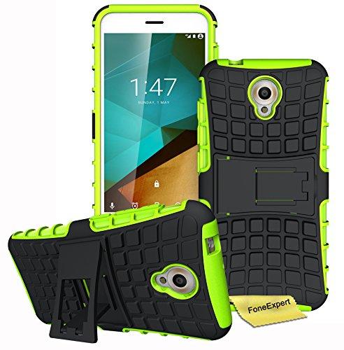 vodafone-smart-prime-7-funda-foneexpertr-heavy-duty-silicona-hibrida-con-soporte-cascara-de-cubierta