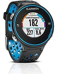 Garmin Forerunner 620 - Reloj de carrera con GPS, color negro / azul