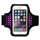 Best Accessory Power Running Armband For Samsung Galaxy S6 S6 Edges - Guzack Phone Armband, Sports Running Armbands for iPhone Review