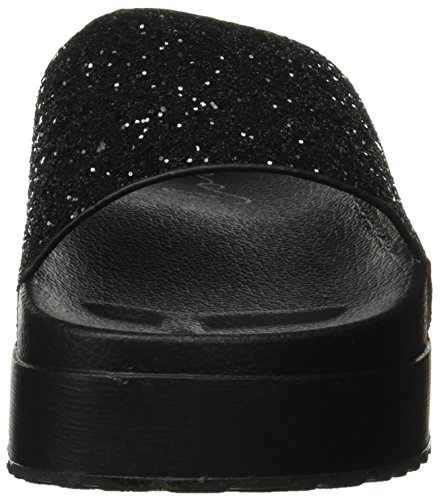 Coolway Tucan, Plateforme plate femme Noir (Black)