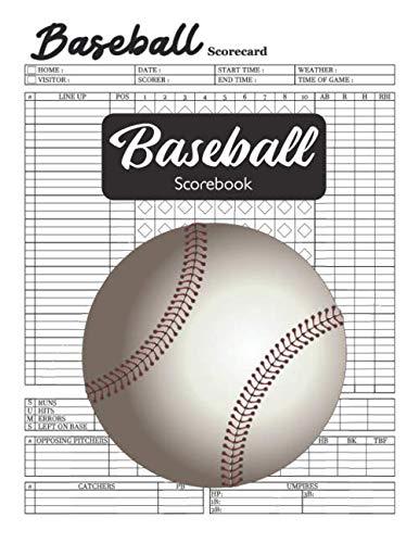 Baseball Scorebook: Baseball Score Keeper book
