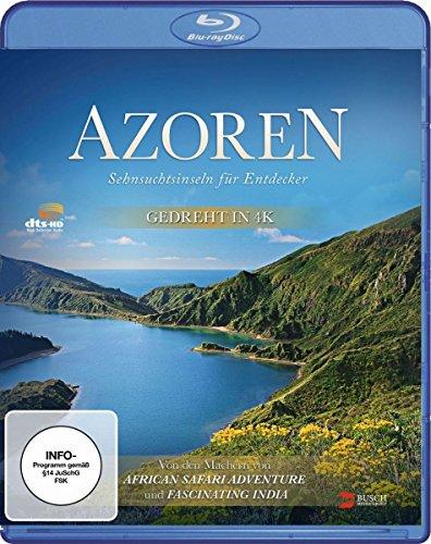 Azoren - Sehnsuchtsinseln für Entdecker [Blu-ray]